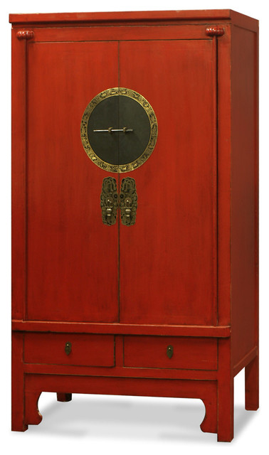 Elmwood Ming Style Armoire Asian Armoires And Wardrobes By China Furniture And Arts