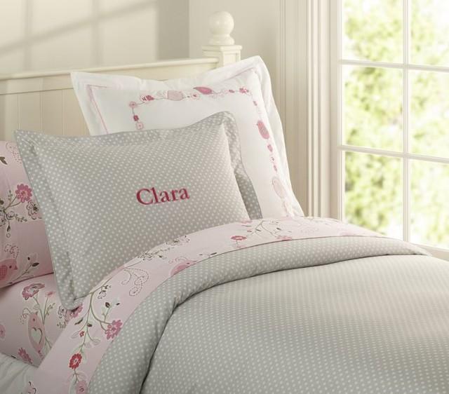 organic mini dot duvet cover modern children s bedding