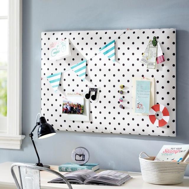 Reverse Dottie Pin-It Pin Board - Contemporary - Bulletin Boards And Chalkboards - by PBteen