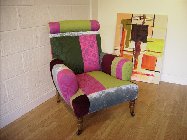 Funky Victorian Armchair - Eclectic - Armchairs & Accent ...