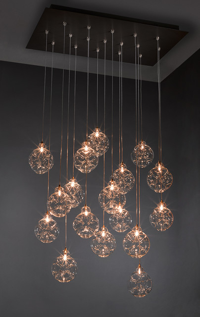 Cloud Chandelier - Contemporary - Ceiling Lighting - other ...