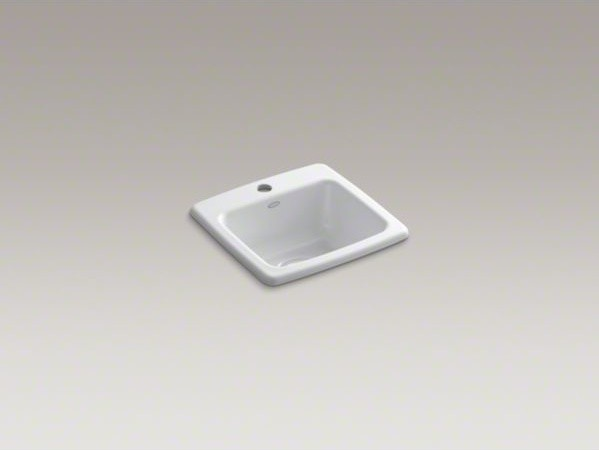 Kohler Bar Sink : ... sink with single faucet hole - Contemporary - Bar Sinks - by Kohler