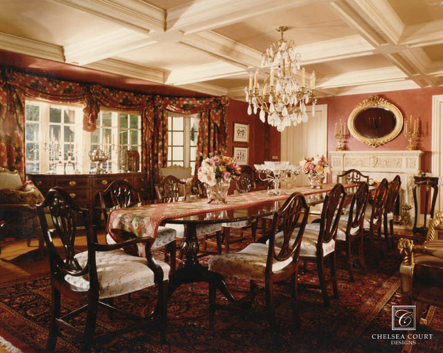 Formal dining room for Traditional formal dining room ideas