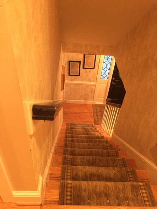 Long Hallway Should I Paint The Ceiling And Walls The