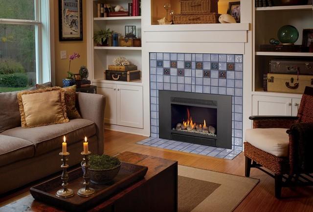fireplacex 31 dvi greensmart gas insert traditional