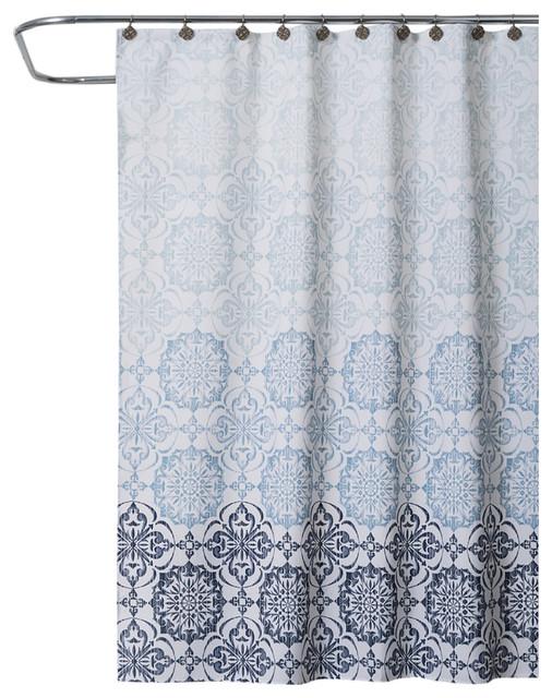 Saturday Knight Zamora Shower Curtain Farmhouse Shower Curtains By Saturday Knight Limited