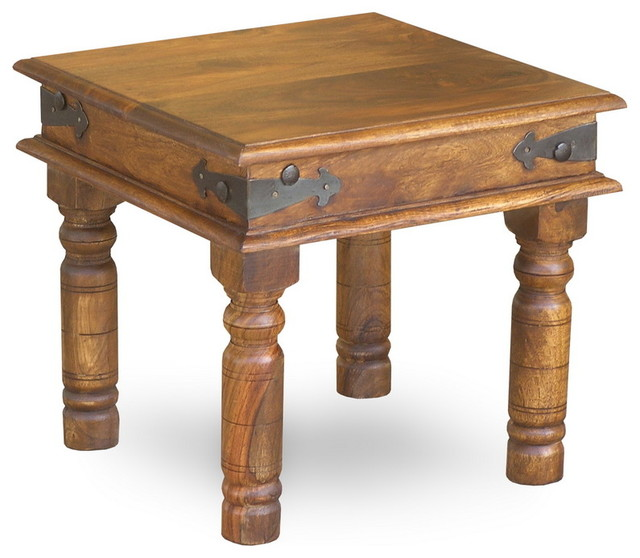 Rustic Thakat Side Table Rustic Side Tables End
