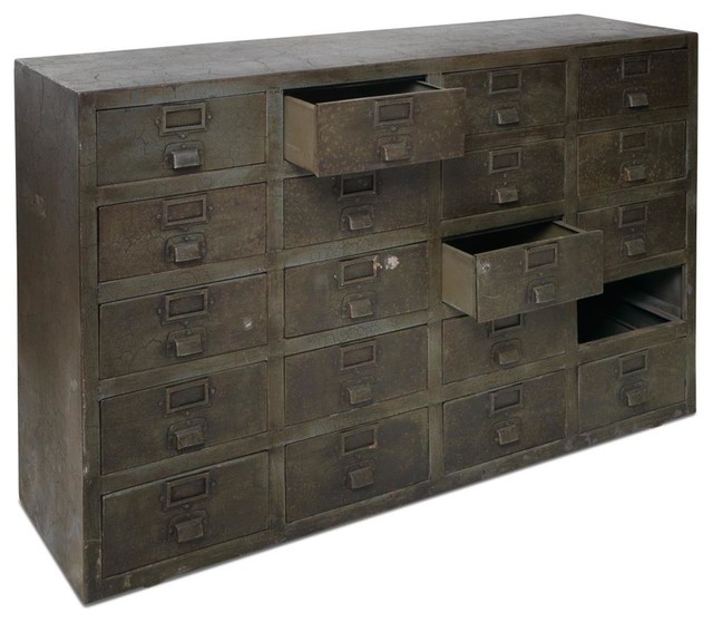 Industrial Cabinet - Rustic - Storage Cabinets - by Nkuku