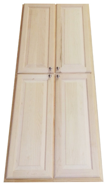 ... 72-inch Recessed Pantry Storage Cabinet contemporary-pantry-cabinets