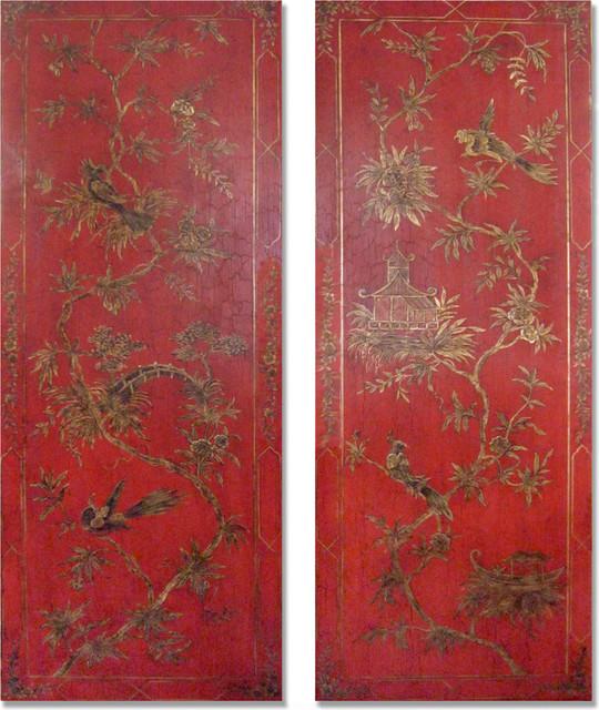 Chinoiserie Wall Panels
