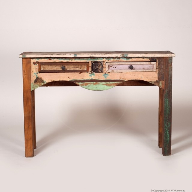 Reclaimed Wood Furniture Rustic Console Tables Melbourne By Viya