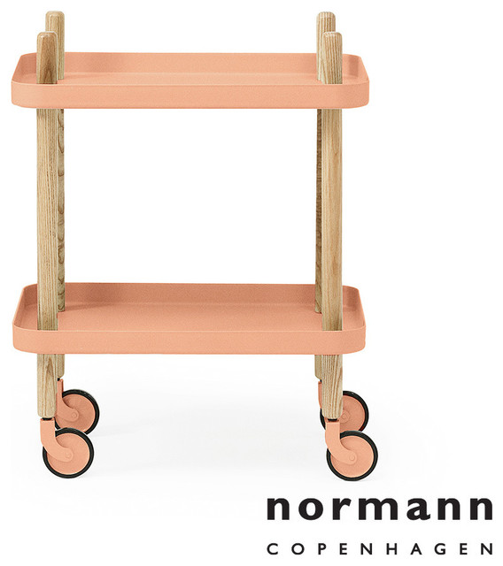 normann copenhagen block table coral modern kitchen islands kitchen trolleys los angeles. Black Bedroom Furniture Sets. Home Design Ideas
