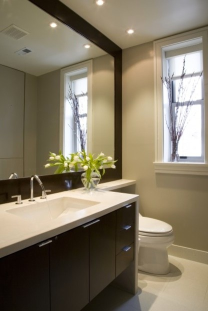 Recessed lights above vanity - Bathroom vanity mirror side lights ...