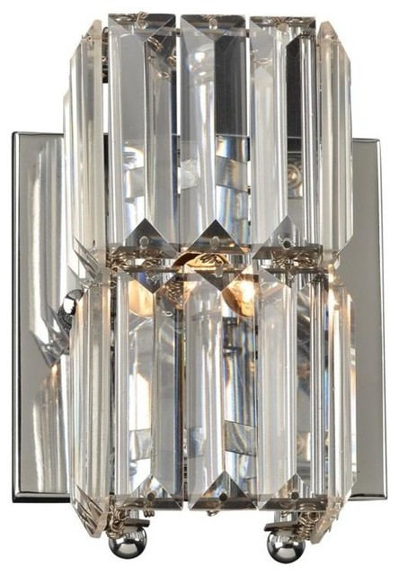 Vanity With Marquee Lights : PLC Lighting-1 Light Vanity Fixture Marquee Collection 90002PC - Bathroom Vanity Lighting - by ...