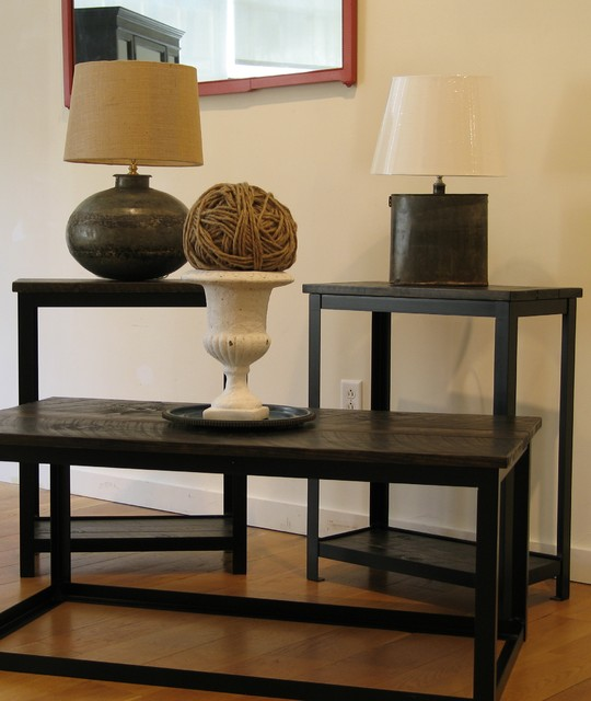 Eclectic Coffee Tables: Industrial Chic Coffee Table