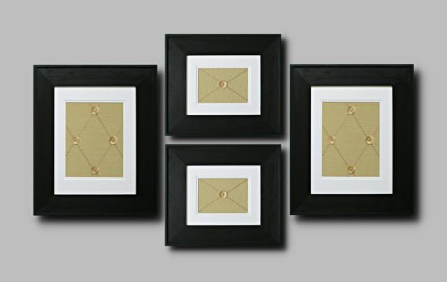 framed wall art set of 4 modern artwork san francisco by beyondframes. Black Bedroom Furniture Sets. Home Design Ideas