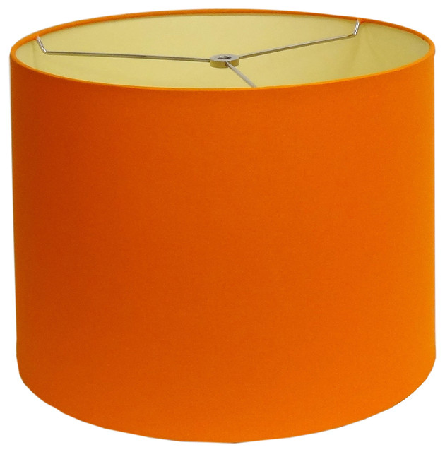 round orange small lamp shade contemporary lamp shades. Black Bedroom Furniture Sets. Home Design Ideas