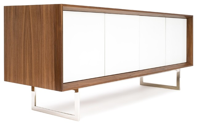 modern walnut sideboard 1