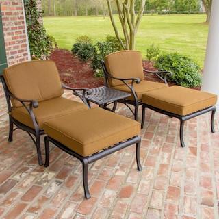 cast aluminum patio deep seating set modern outdoor dining tables