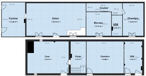 Besoin d 39 aide pour une maison toute en longueur - Amenager une maison en longueur ...