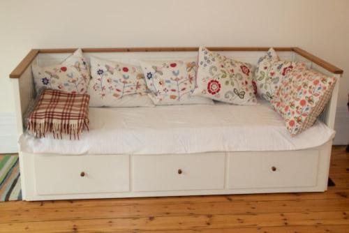 Daybed sofa with trundle - Which Mattress Placed Where On Hemnes Daybed
