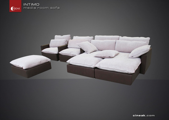 Luxury Media Room Sofas Modern Sectional Sofas Other By Cineak Luxury Seating