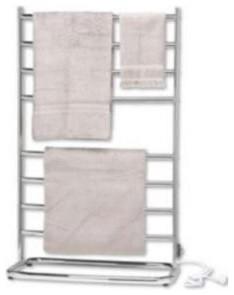 Hyde Park Towel Warmer, Satin Nickel - Contemporary - Towel Warmers ...