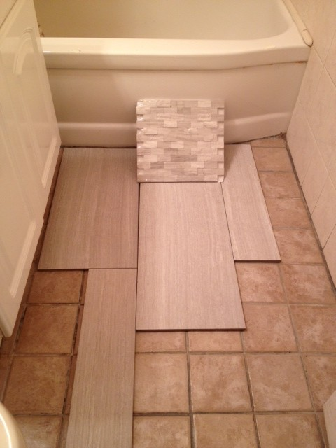 Small Bathroom Tile Choice And Layout