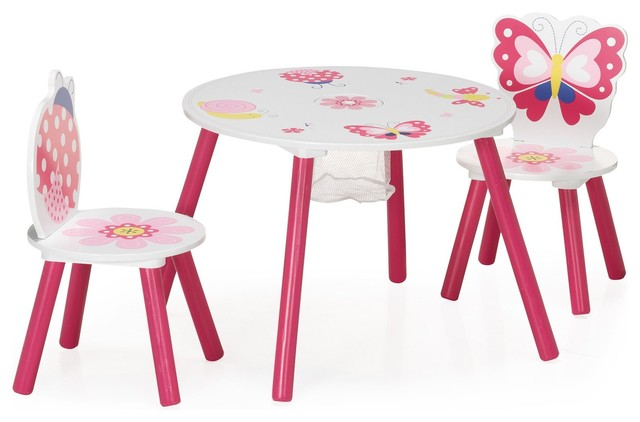 butterfly ensemble table et chaises pour enfant contemporain chaise et table enfant par. Black Bedroom Furniture Sets. Home Design Ideas