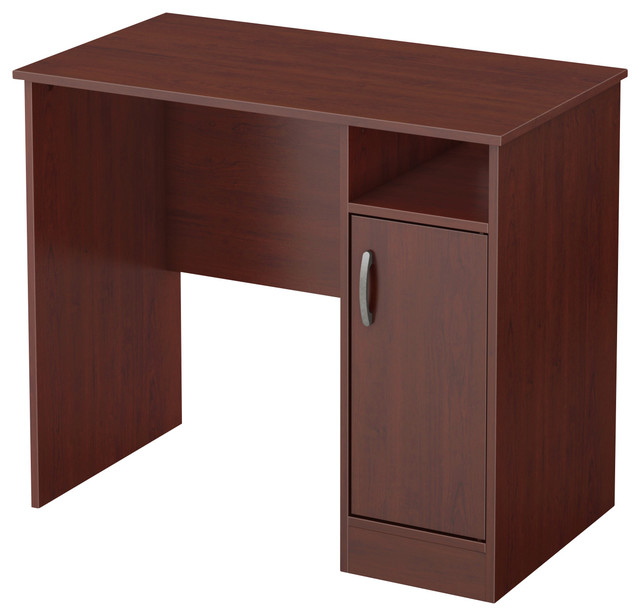 South Shore Axess Small Desk, Royal Cherry