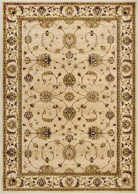 Contemporary Outdoor Patio Rugs :  Rug Home Dynamix Rugs Dynasty Beige 5 ft 2 contemporaryoutdoorrugs