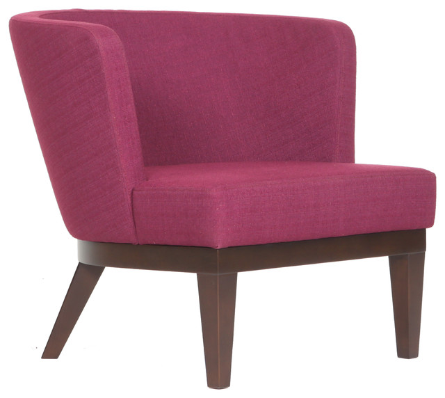 Gela Lounge Chair By B Amp T Modern Armchairs And Accent