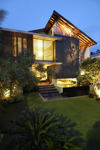 Modern Tropical House Design Of Modern Tropical House