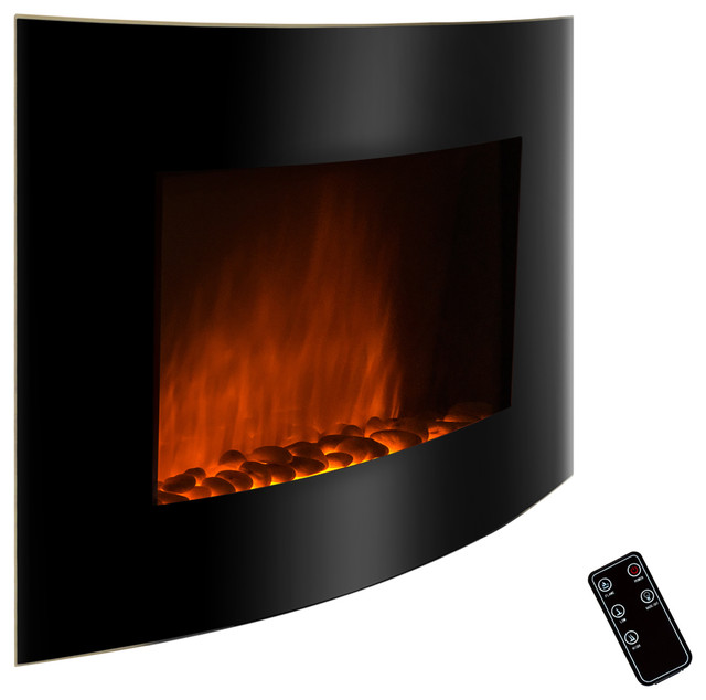 Golden Vantage 36 Inch Black Free Wall Mount Indoor Heater