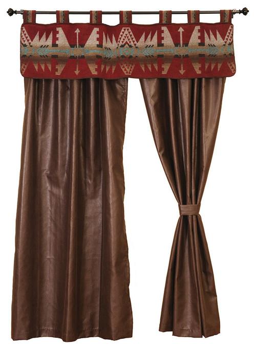Matching drapes