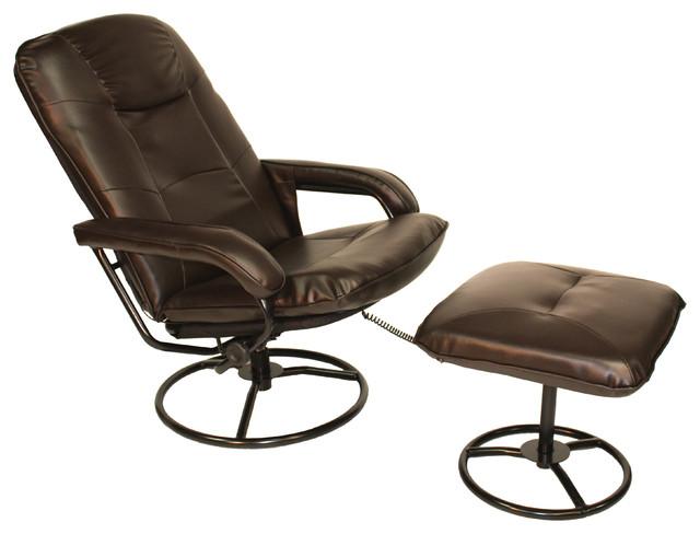 Relaxzen 10 motor massage recliner with heat brown for Apex recliner motor model ap a88