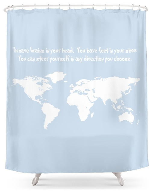 Society6 Dr Seuss Inspirational Quote With Earth Outline