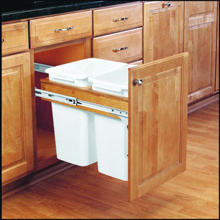 Kitchen Trash Cans Built Into Cabinets Or Not