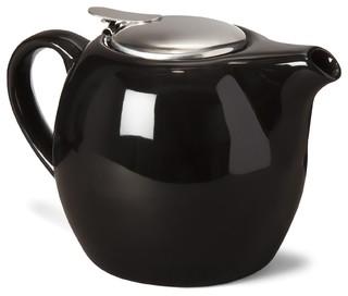 nilgi th i re en fa ence 75cl noire avec diffuseur contemporary teapots by alin a mobilier. Black Bedroom Furniture Sets. Home Design Ideas
