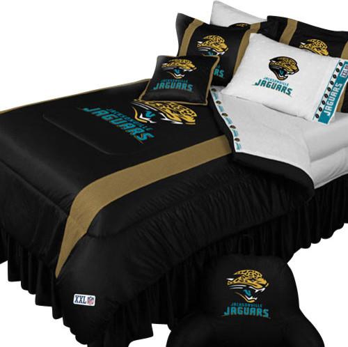 Nfl Jacksonville Jaguars Football Full Double Bedding Set