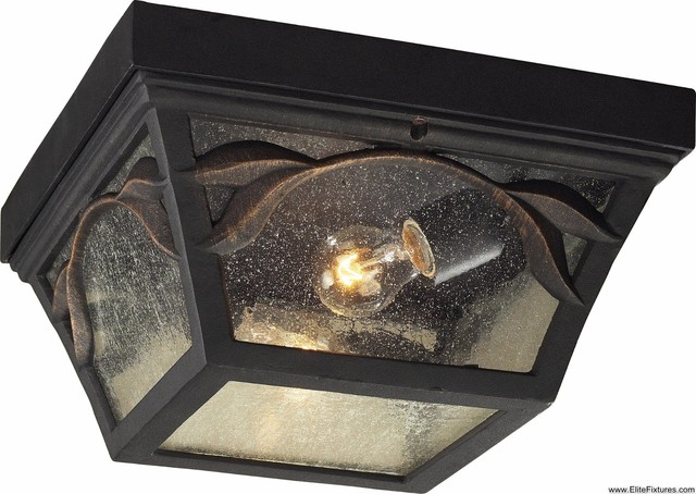 Elk lighting 42046 2 2 light flush mount hamilton park - Plafones para exteriores ...