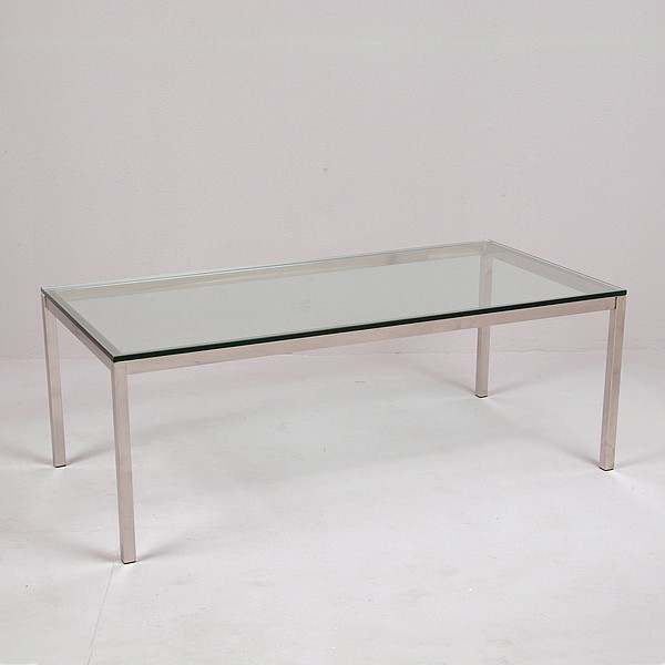 Florence Knoll Rectangular Coffee Table Reproduction Modern Coffee Tables Other Metro