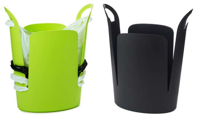 Urbano Eco Trash Can - Contemporary - Wastebaskets - by UncommonGoods