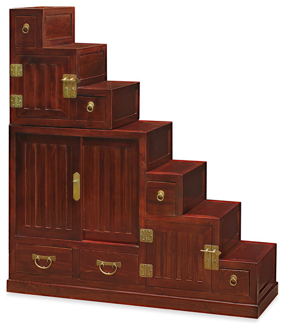 Japanese Style Step Tansu - Asian - Accent Chests And Cabinets - by China Furniture and Arts