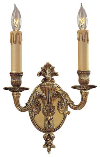 Traditional Wall Sconces With Candles : Metropolitan N9812 Metropolitan 2 Light 9