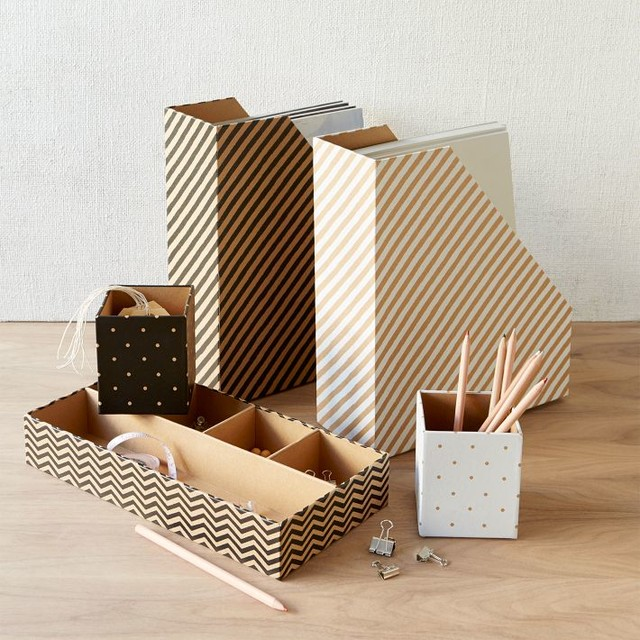 kraft office collection contemporary desk accessories