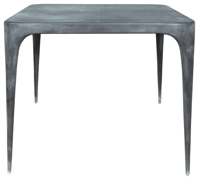CAS Square Dining Table With Zinc Top Contemporary  : contemporary dining tables from www.houzz.co.uk size 640 x 578 jpeg 34kB
