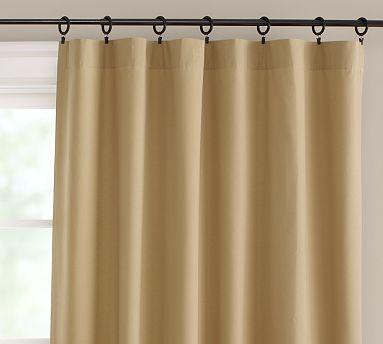 Cameron drape 50 x 108 linen straw traditional for 108 window treatments