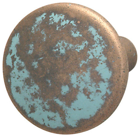 Hafele Copper Cabinet Knob - Midcentury - Cabinet And Drawer Knobs - by Simply Knobs And Pulls