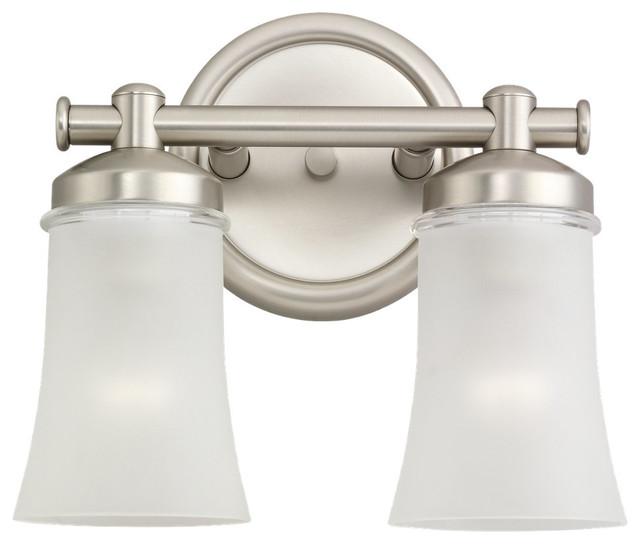 Transitional Bathroom Vanity Lights : Sea Gull Two Light Wall / Bath - Transitional - Bathroom Vanity Lighting - by Lighting Pavilion